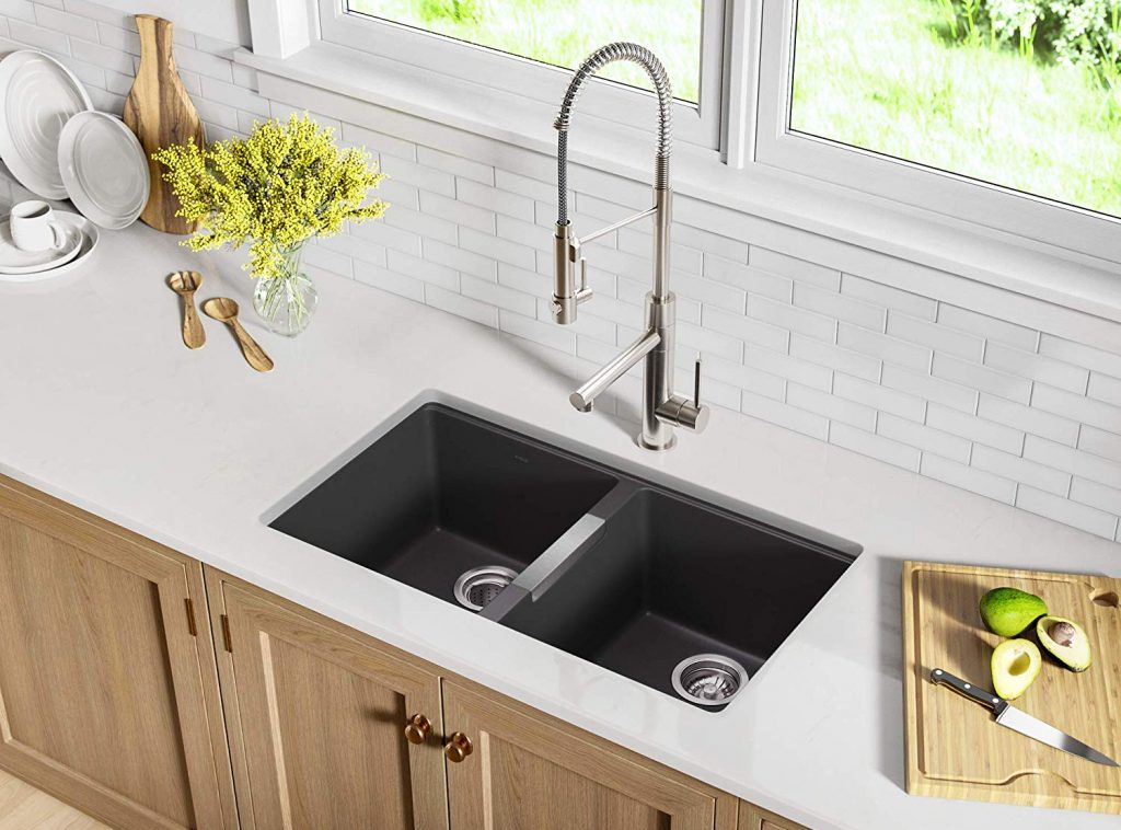 8 Best Granite Sinks - Great Addition to Your Kitchen's Aesthetics!