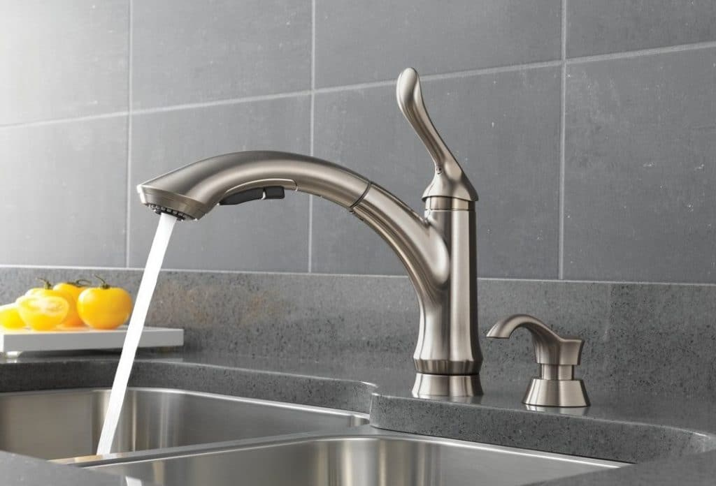 10 Excellent Pull-Out Kitchen Faucets - Great Solution for Smaller Sinks