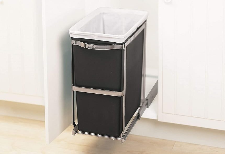 15 Best Under Sink Trash Cans - Your Way to an Ideal Kitchen