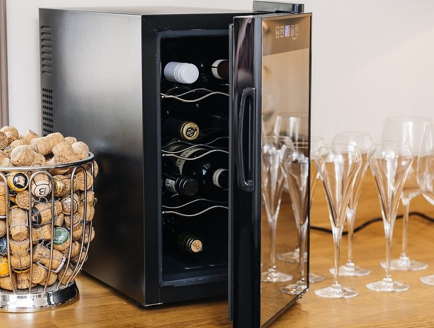 6 Best 12-Bottle Wine Coolers for the Most Dedicated Wine Enthusiasts