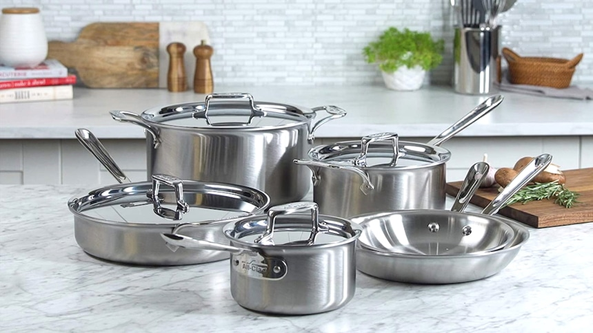 9 Best Stainless Steel Cookware Sets — Durability and Ease of Use