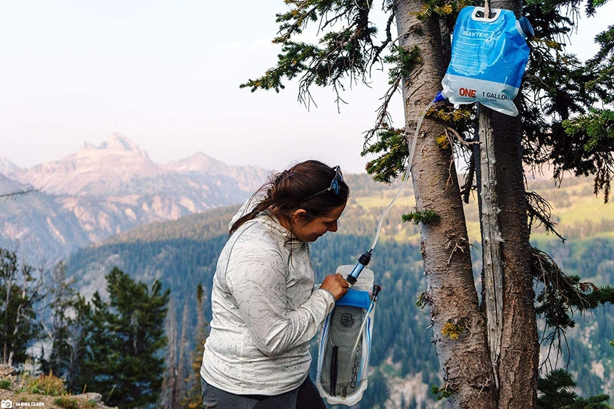 14 Gravity Water Filters - Clean Drinking Water Anytime And Anywhere
